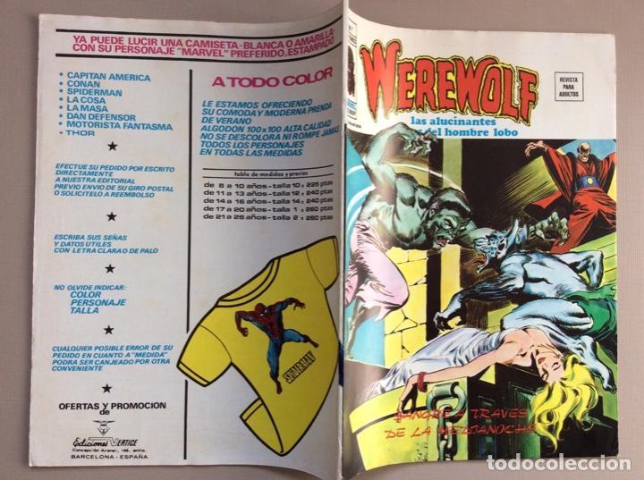 Cómics: EL HOMBRE LOBO / WEREWOLF VOLUMEN 1 Y 2 Completa - Foto 48 - 266647983