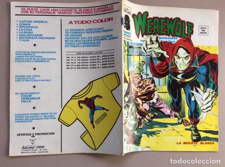 Cómics: EL HOMBRE LOBO / WEREWOLF VOLUMEN 1 Y 2 Completa - Foto 53 - 266647983