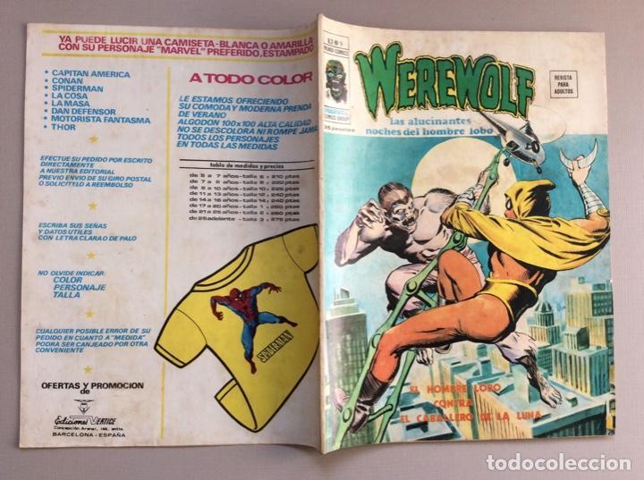 Cómics: EL HOMBRE LOBO / WEREWOLF VOLUMEN 1 Y 2 Completa - Foto 59 - 266647983