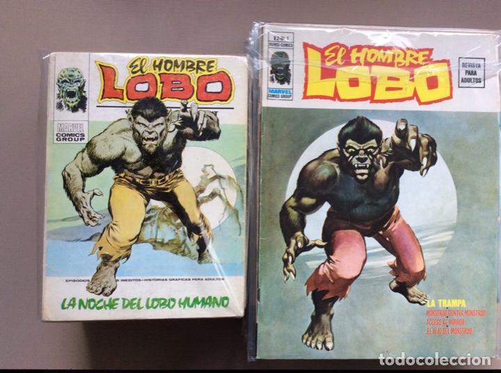 EL HOMBRE LOBO / WEREWOLF VOLUMEN 1 Y 2 COMPLETA (Tebeos y Comics - Vértice - Otros)