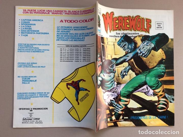 Cómics: EL HOMBRE LOBO / WEREWOLF VOLUMEN 1 Y 2 Completa - Foto 64 - 266647983