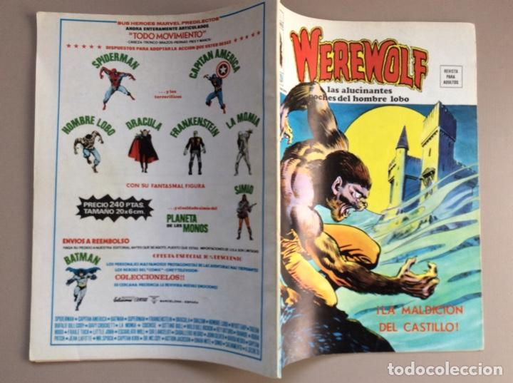 Cómics: EL HOMBRE LOBO / WEREWOLF VOLUMEN 1 Y 2 Completa - Foto 68 - 266647983