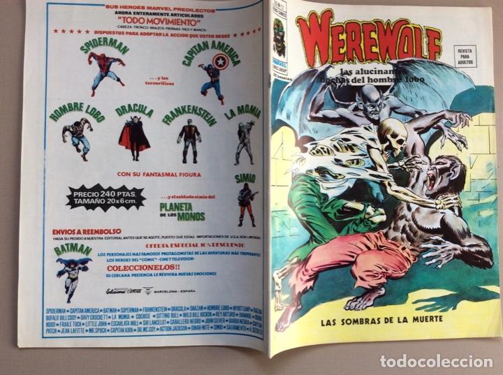 Cómics: EL HOMBRE LOBO / WEREWOLF VOLUMEN 1 Y 2 Completa - Foto 73 - 266647983