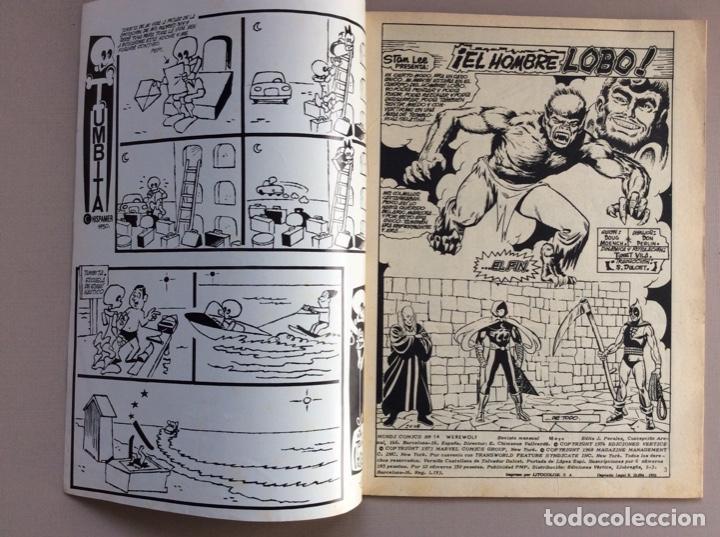 Cómics: EL HOMBRE LOBO / WEREWOLF VOLUMEN 1 Y 2 Completa - Foto 81 - 266647983