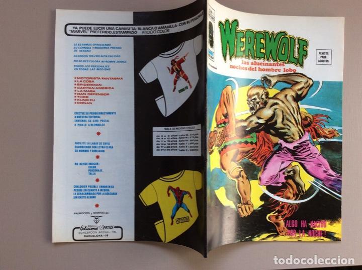 Cómics: EL HOMBRE LOBO / WEREWOLF VOLUMEN 1 Y 2 Completa - Foto 87 - 266647983