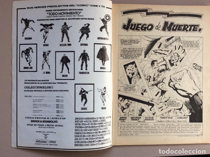 Cómics: EL HOMBRE LOBO / WEREWOLF VOLUMEN 1 Y 2 Completa - Foto 89 - 266647983
