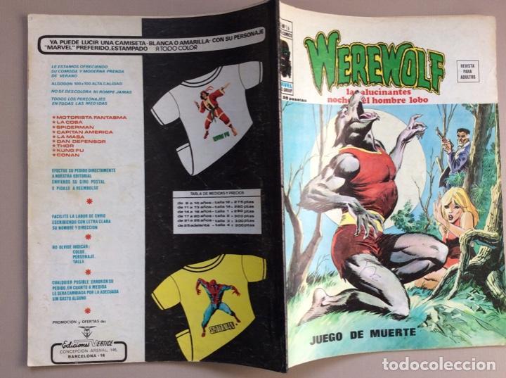 Cómics: EL HOMBRE LOBO / WEREWOLF VOLUMEN 1 Y 2 Completa - Foto 92 - 266647983