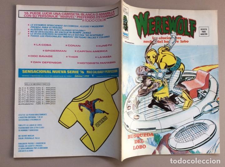 Cómics: EL HOMBRE LOBO / WEREWOLF VOLUMEN 1 Y 2 Completa - Foto 98 - 266647983