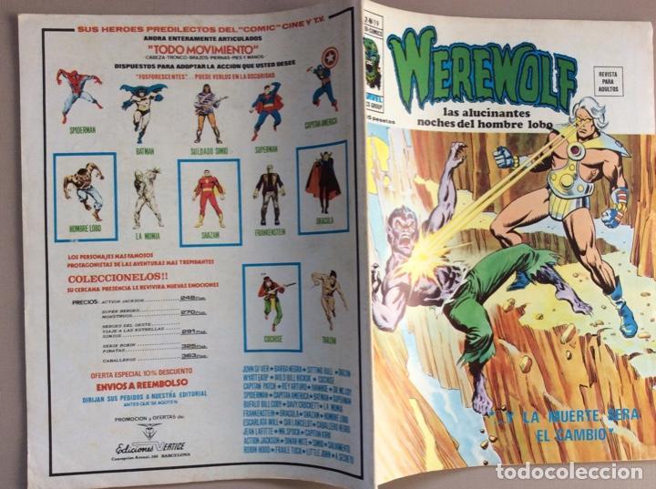 Cómics: EL HOMBRE LOBO / WEREWOLF VOLUMEN 1 Y 2 Completa - Foto 109 - 266647983