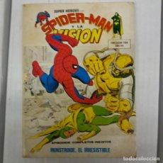 Cómics: SUPERHEROES PRESENTA SPIDERMAN Y LA VISIÓN Nº 10 VÉRTICE V.1. Lote 230906940