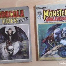 Cómics: ESCALOFRIOS N° 3 Y 4 EDICIONES VERTICE 1973. Lote 230998835