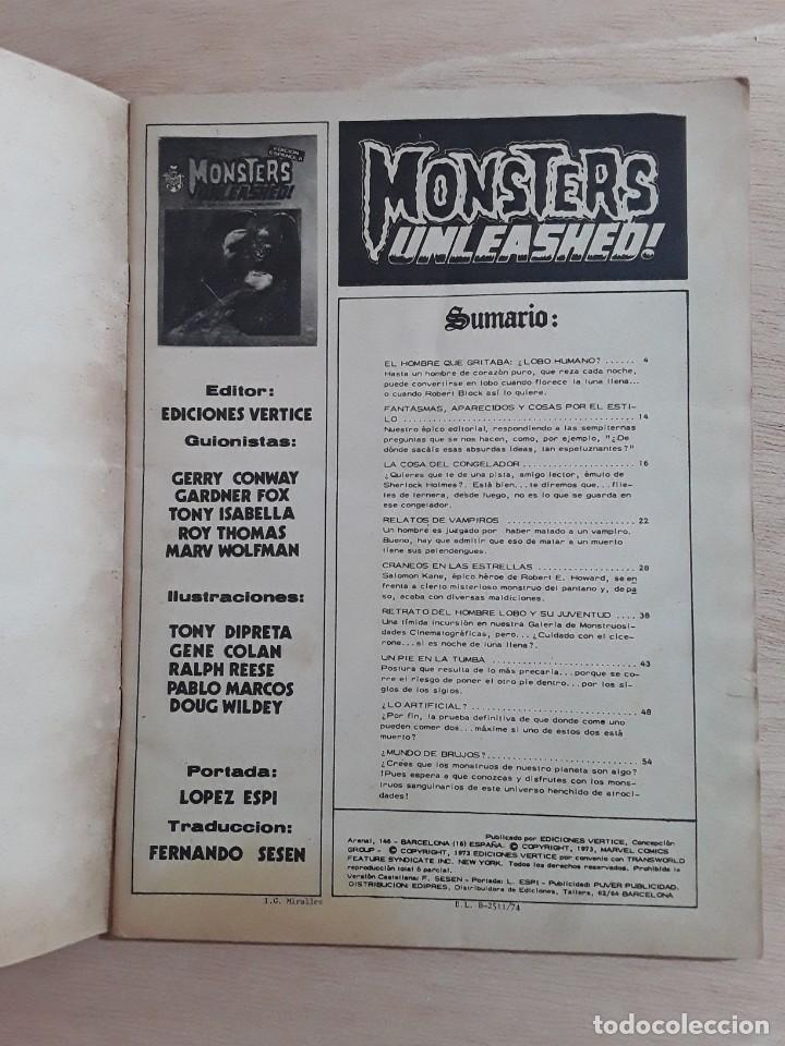 Cómics: Escalofrios n° 3 y 4 ediciones vertice 1973 - Foto 3 - 230998835