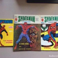 Fumetti: SPIDERMAN VOLUMEN 1-2-3 COMPLETAS + PETER PARKER COMPLETA. Lote 231694905