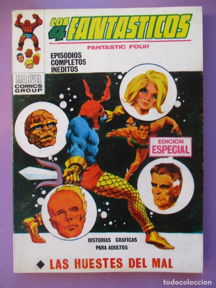 LOS 4 FANTASTICOS Nº 15 VERTICE TACO ¡¡¡¡ BUEN ESTADO !!!!!! (Tebeos y Comics - Vértice - V.1)