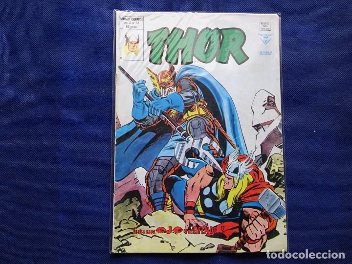 THOR - VERTICE - VOLUMEN 2 V2 - NUM 48 (Tebeos y Comics - Vértice - Thor)