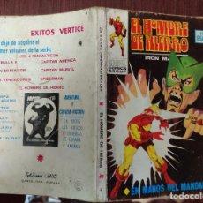 Comics: EL HOMBRE DE HIERRO VOL. 1 Nº 4: EN MANOS DEL MANDARIN - LOPEZ ESPI (VERTICE 1969). Lote 232594230