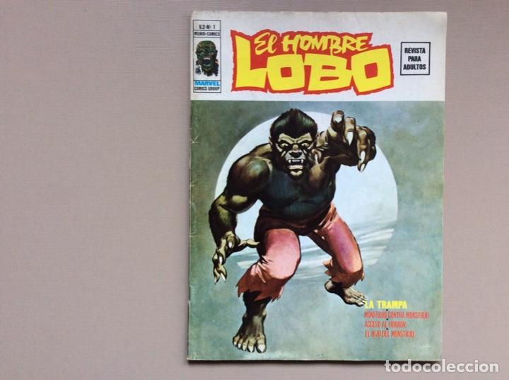 EL HOMBRE LOBO- WEREWOLF VOLUMEN 2 COMPLETA (Tebeos y Comics - Vértice - Otros)