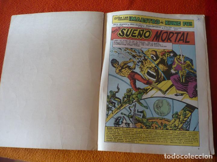 Cómics: RELATOS SALVAJES VOL. 2 Nº 12 ARTES MARCIALES JUDO KUNG FU KARATE SHANG CHI VERTICE MUNDI COMICS - Foto 3 - 232831798