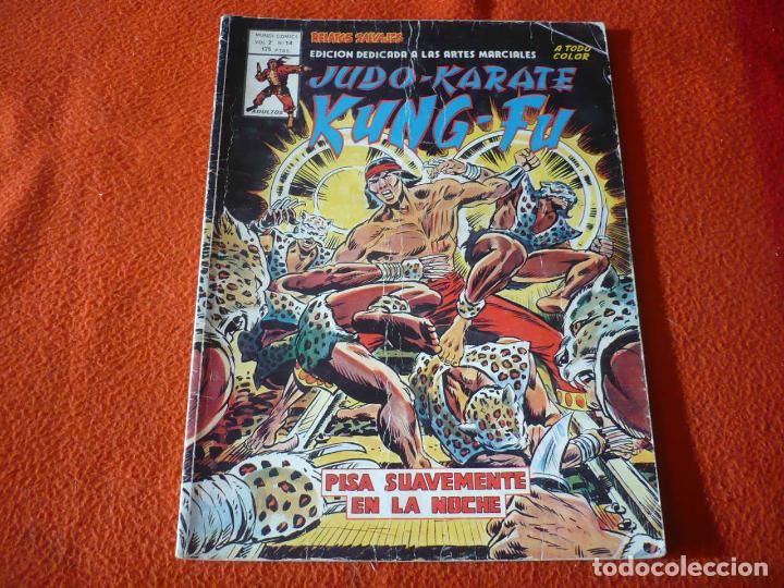 RELATOS SALVAJES VOL. 2 Nº 14 ARTES MARCIALES JUDO KUNG FU KARATE SHANG CHI VERTICE MUNDI COMICS (Tebeos y Comics - Vértice - Relatos Salvajes)