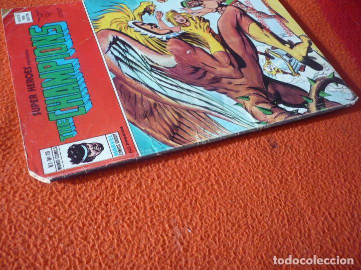 Cómics: SUPER HEROES VOL. 1 Nº 75 THE CHAMPIONS VERTICE MUNDI COMICS - Foto 2 - 232832555