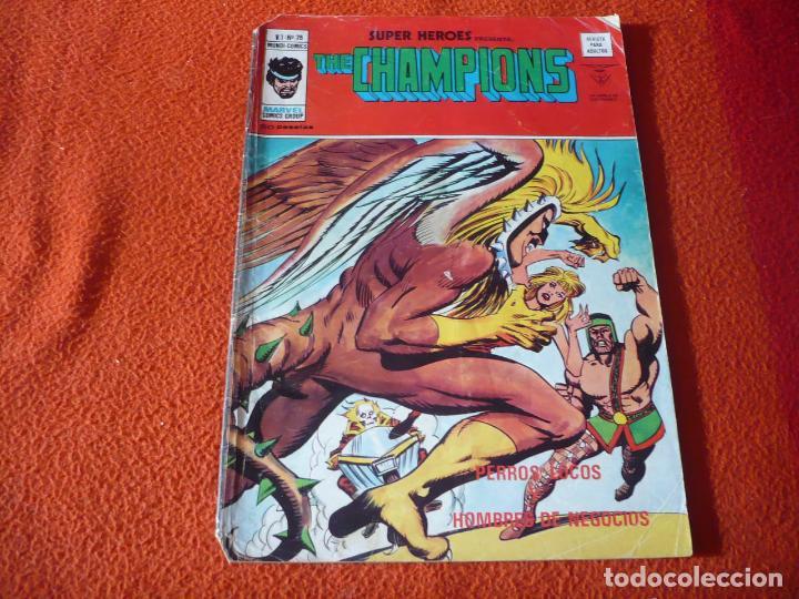 SUPER HEROES VOL. 1 Nº 75 THE CHAMPIONS VERTICE MUNDI COMICS (Tebeos y Comics - Vértice - Super Héroes)