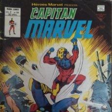 Cómics: EDICIONES VERTICE-HEROES MARVEL PRESENTA CAPITAN MARVEL - VOLUMEN 2 - NUMERO 58 - EXPLOSION ESTELAR. Lote 232866950