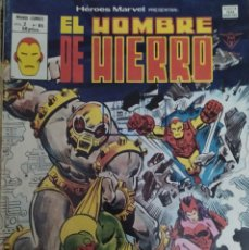Cómics: EDICIONES VERTICE- HEROES MARVEL Nº 65. VOL. 2 - EL HOMBRE DE HIERRO ¡LA AMENAZA DE ARSENAL!. Lote 232868275