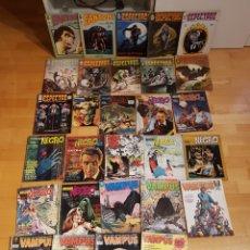 Comics: ESPECTROS VERTICE FANTOM DOSSIER NEGRO VAMPUS GRAN LOTE DE 29 COMICS AÑOS 70 GRAN ESTADO. Lote 232890795