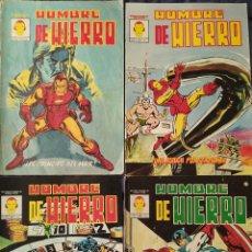 Cómics: HOMBRE DE HIERRO NUMEROS 1-2-4 Y 6. Lote 231736965