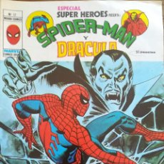 Cómics: ESPECIAL SUPER-HEROES SPIDERMAN Y DRACULA N 12. Lote 233285905