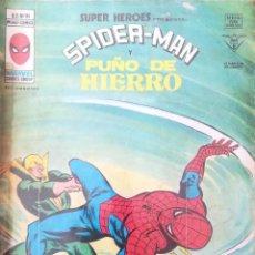 Cómics: SUPER HEROES PRESENTA SPIDER MAN Y PUÑO DE HIERRO N 90 V 2. Lote 233290380