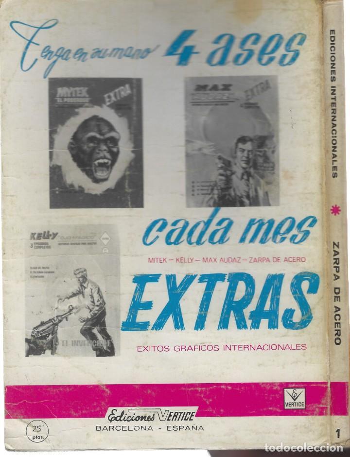 Cómics: ZARPA DE ACERO EXTRA TACO NUMERO 1. VERTICE - Foto 2 - 233647275