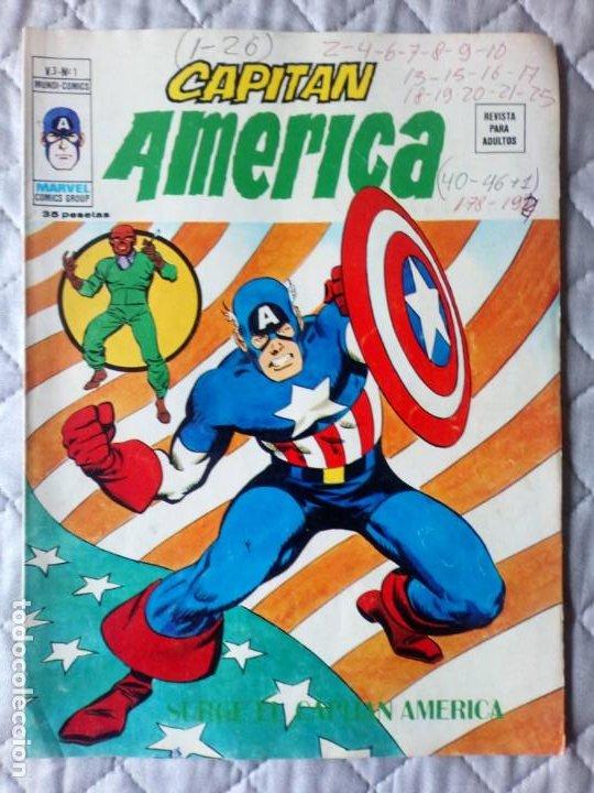 CAPITÁN AMÉRICA VOL. 3 Nº 1 VERTICE (Tebeos y Comics - Vértice - V.3)