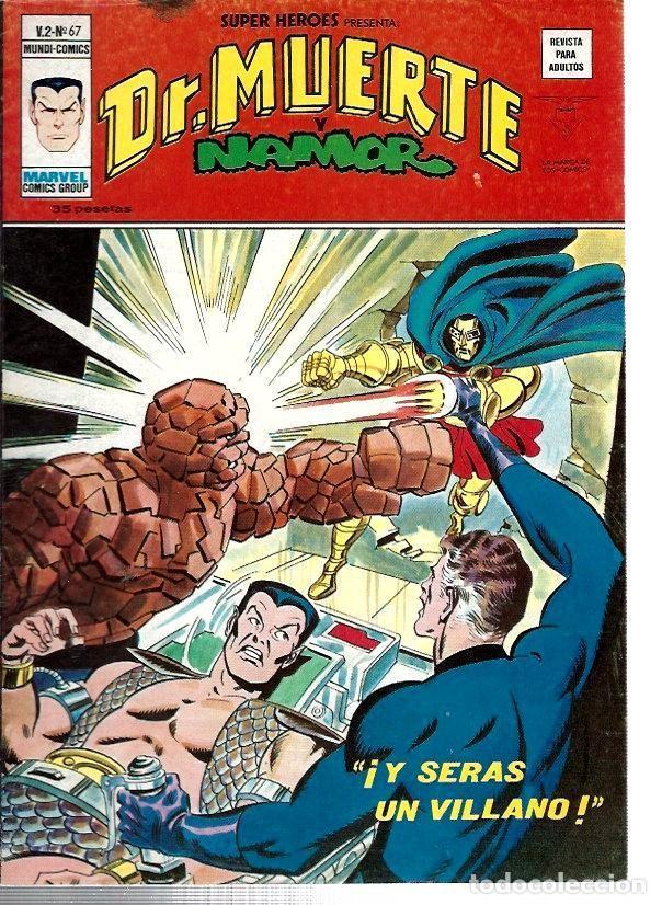 SUPER HÉROES, VERTICE VOL. 2 Nº 67 (Tebeos y Comics - Vértice - Super Héroes)