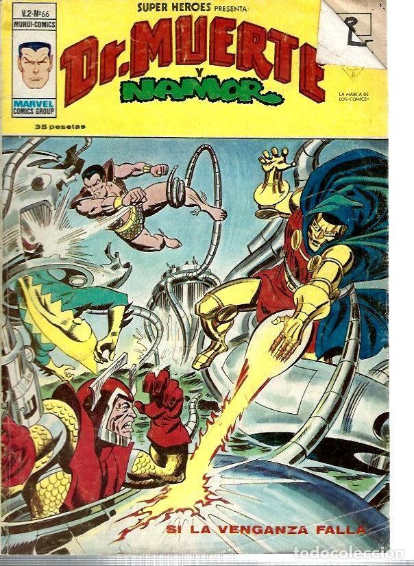 SUPER HÉROES, VERTICE VOL. 2 Nº 66 (Tebeos y Comics - Vértice - Super Héroes)