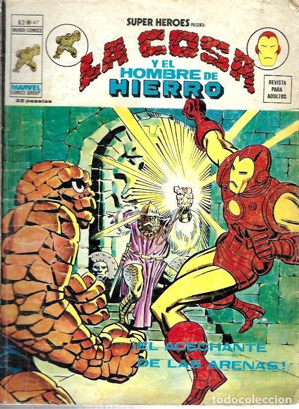 SUPER HÉROES, VERTICE VOL. 2 Nº 47 (Tebeos y Comics - Vértice - Super Héroes)