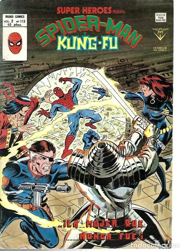 SUPER HÉROES, VERTICE VOL. 2 Nº 113 (Tebeos y Comics - Vértice - Super Héroes)