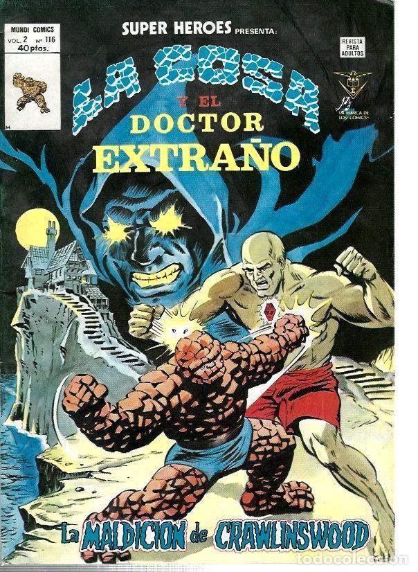 SUPER HÉROES, VERTICE VOL. 2 Nº 116 (Tebeos y Comics - Vértice - Super Héroes)