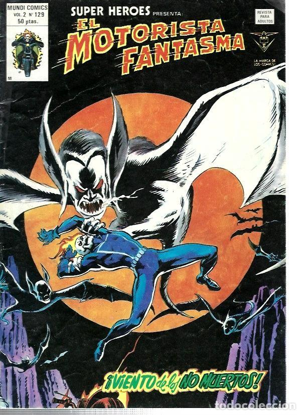 SUPER HÉROES, VERTICE VOL. 2 Nº 129 (Tebeos y Comics - Vértice - Super Héroes)