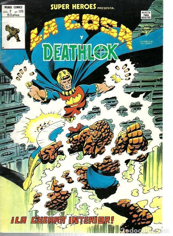 SUPER HÉROES, VERTICE VOL. 2 Nº 120 (Tebeos y Comics - Vértice - Super Héroes)