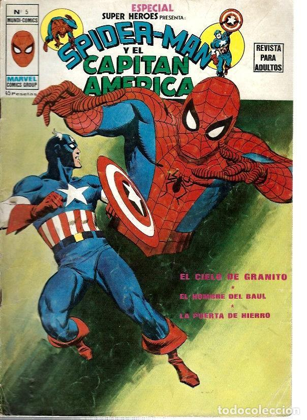 ESPECIAL SUPER HÉROES, VERTICE Nº 5 (Tebeos y Comics - Vértice - Super Héroes)