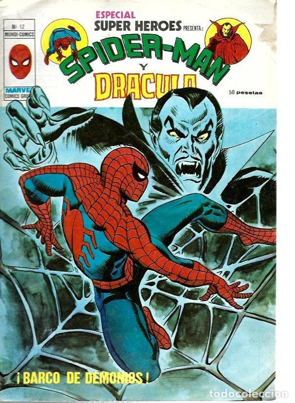 ESPECIAL SUPER HÉROES, VERTICE Nº 12 (Tebeos y Comics - Vértice - Super Héroes)