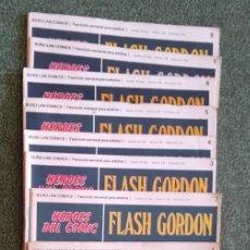 Cómics: FLASH GORDON ED. BURU LAN(1972) - 8 FASCÍCULOS DEL 1 AL 8. Lote 233866270