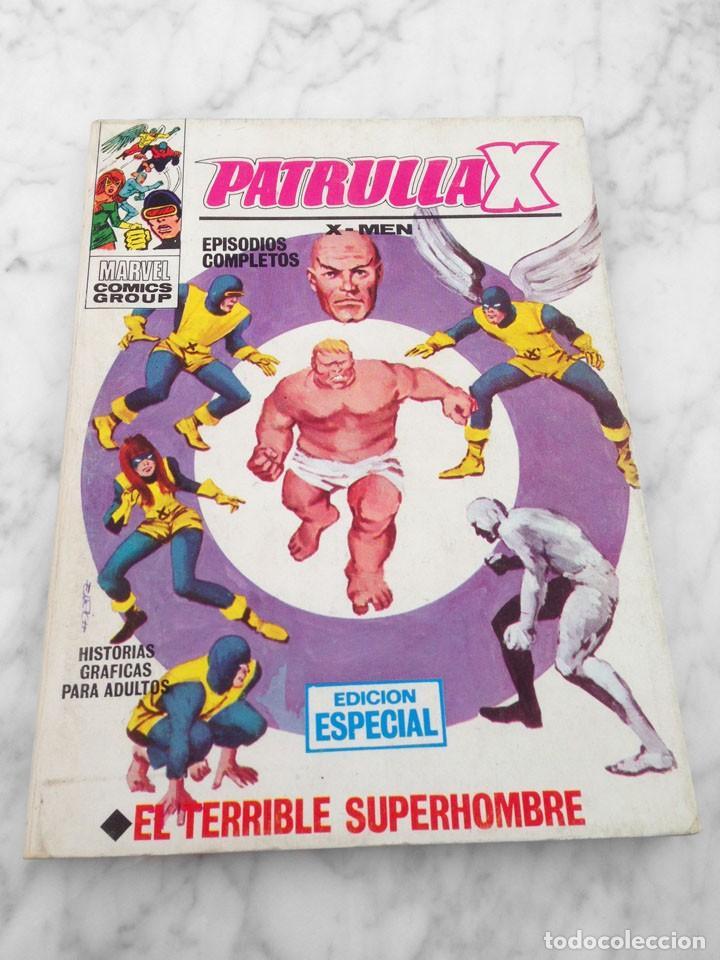 PATRULLA X (X-MEN) - Nº 3 - EL TERRIBLE SUPERHOMBRE - ED. VERTICE - 1969 - TACO VOL. 1 (Tebeos y Comics - Vértice - Patrulla X)