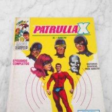 Comics: PATRULLA X (X-MEN) - Nº 4 - UNUS EL INTOCABLE - ED. VERTICE - 1969 - TACO VOL. 1. Lote 234447805