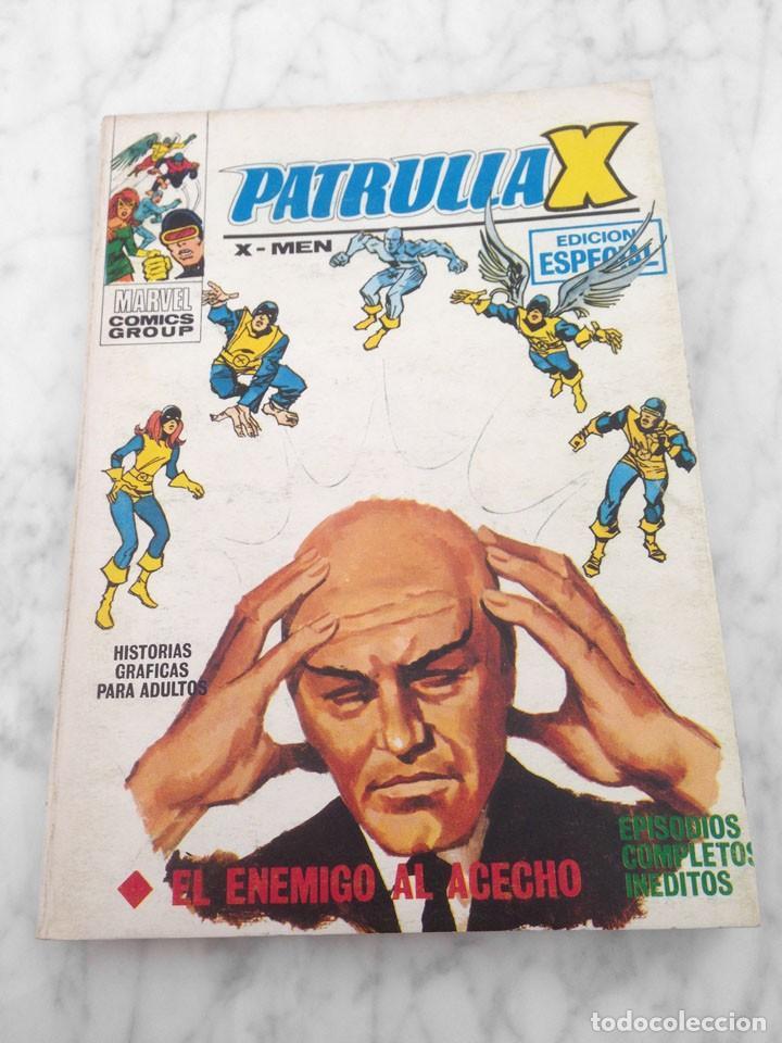 PATRULLA X (X-MEN) - Nº 7 - EL ENEMIGO AL ACECHO - ED. VERTICE - 1970 - TACO VOL. 1 (Tebeos y Comics - Vértice - Patrulla X)