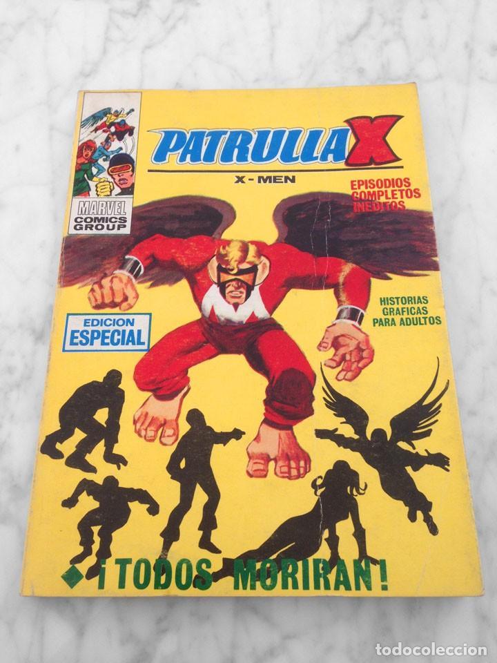 PATRULLA X (X-MEN) - Nº 8 - TODOS MORIRAN - ED. VERTICE - 1970 - TACO VOL. 1 (Tebeos y Comics - Vértice - Patrulla X)