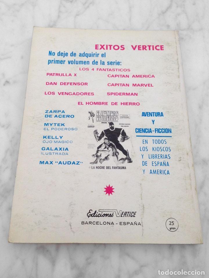 Cómics: PATRULLA X (X-MEN) - Nº 8 - TODOS MORIRAN - ED. VERTICE - 1970 - TACO VOL. 1 - Foto 2 - 234659280