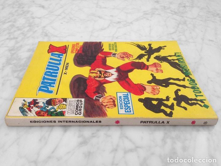 Cómics: PATRULLA X (X-MEN) - Nº 8 - TODOS MORIRAN - ED. VERTICE - 1970 - TACO VOL. 1 - Foto 3 - 234659280