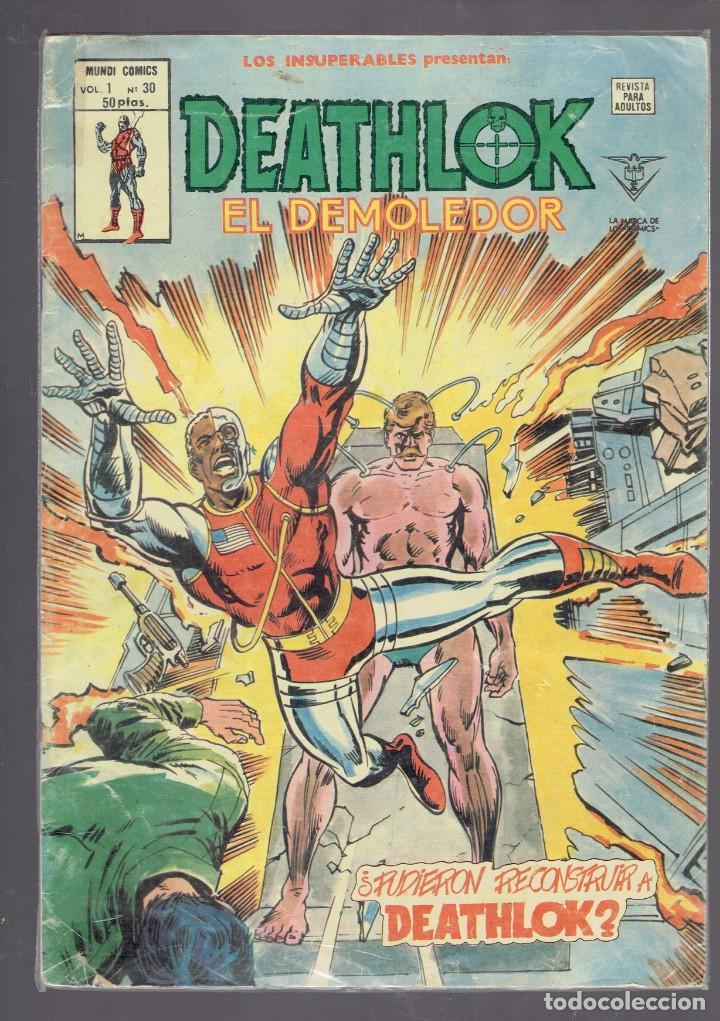 Cómics: A 3 EUROS UNIDAD LOTE DE 30 COMICS DE SUPER HEROES EDICIONES Y COLECCIONES VARIADAS AÑOS 1974-2002 - Foto 5 - 234795840